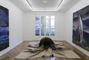 'Bonjour tristesse, désir, ennui, appétit, plaisir' Vue de l'exposition à La Galerie, Centre d'art contemporain de Noisy-le-Sec, Photo © Cédrick Eymenier, 2013